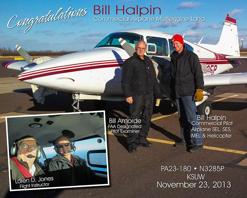 Bill Halpin, Comm ME